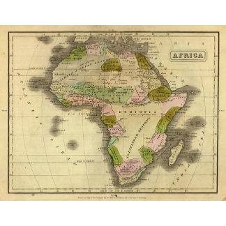 Africa Olney Map