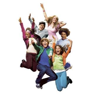 High School Musical Group Jumping
