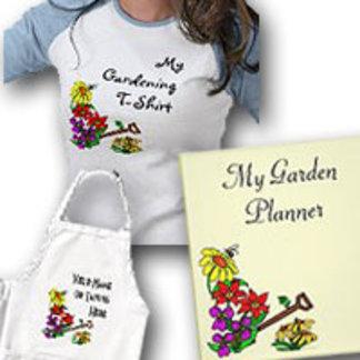 Customizable Floral Garden Art