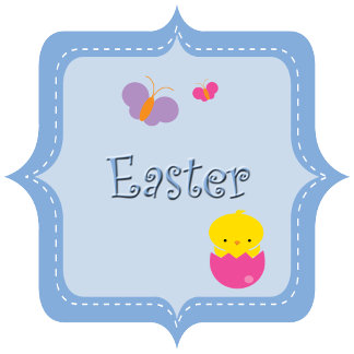 Kawaii Easter Bunny Easter Egg Hunt