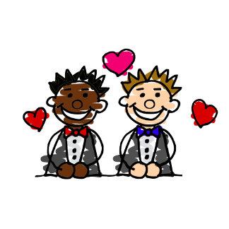 Bi-Racial Gay Couple