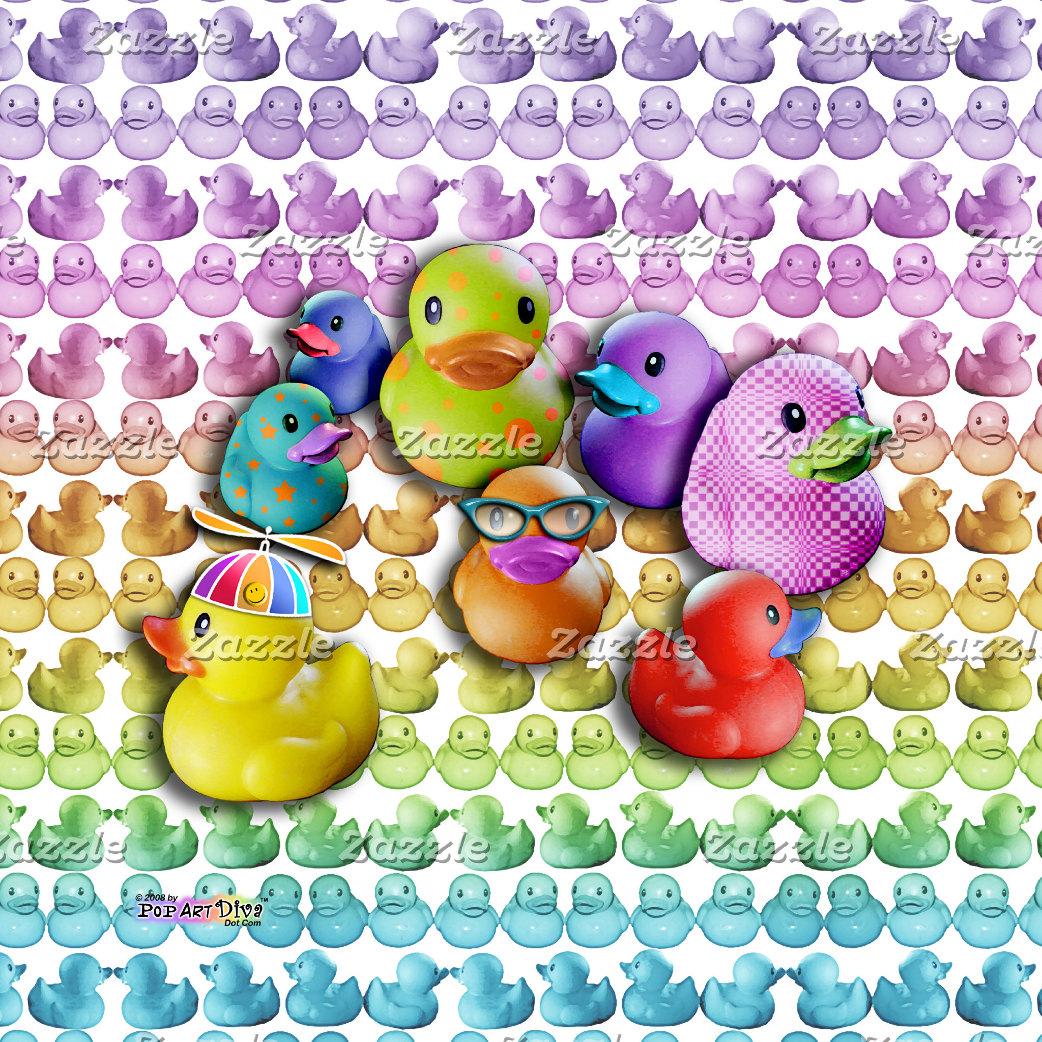 m. RUBBER DUCKIES