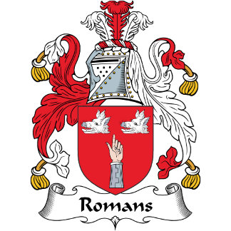 Romans Family Crest
