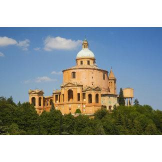 Italy, Bologna, Sunny Day with Portico di San