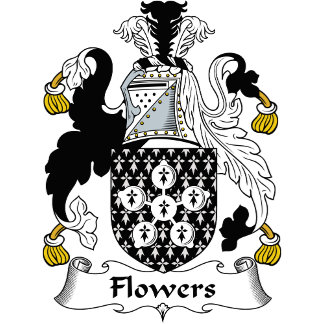 Flowers Family Crest / Coat of Arms