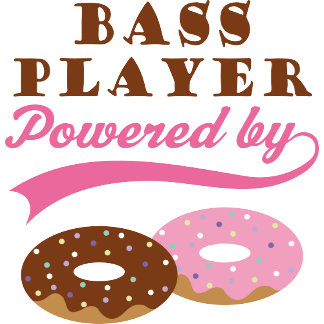 Bass Player Powered By Donuts
