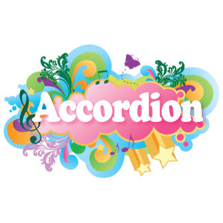 Accordion Player Music Tee Shirts