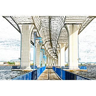 bridge sketch jensen beach.