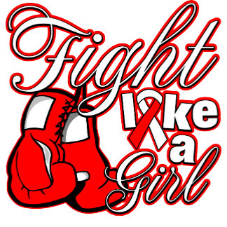 MDS Fight Like A Girl GLOVES ON