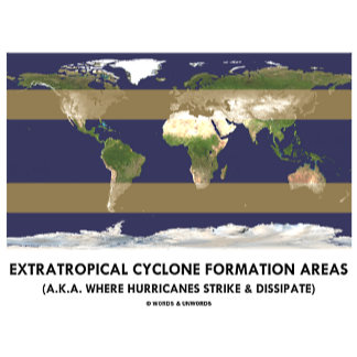 Extratropical Cyclone Formation Areas