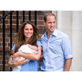 Kate & William with Newborn Son