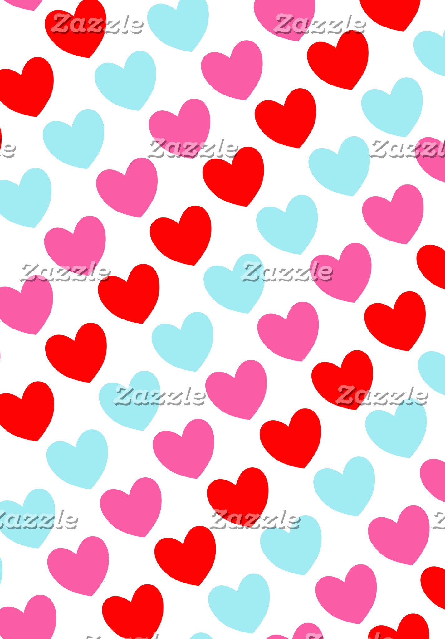 Colorful Heart Pattern
