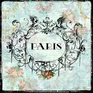Paris Rococo Design & PInk Roses