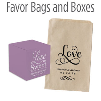 Favor Bags and Boxes