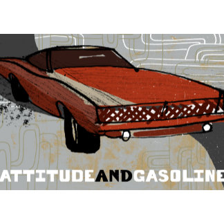 """Classic Car Poster Print"""