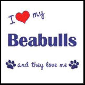 I Love My Beabulls (Multiple Dogs)