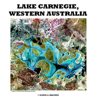 Lake Carnegie, Western Australia (Satellite Photo)