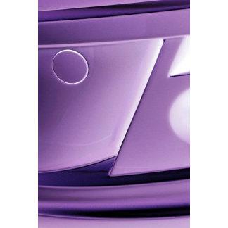 Purple Designer Metal Texture Girly