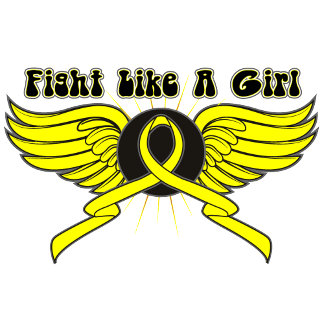 Bladder Cancer Fight Like A Girl Wings