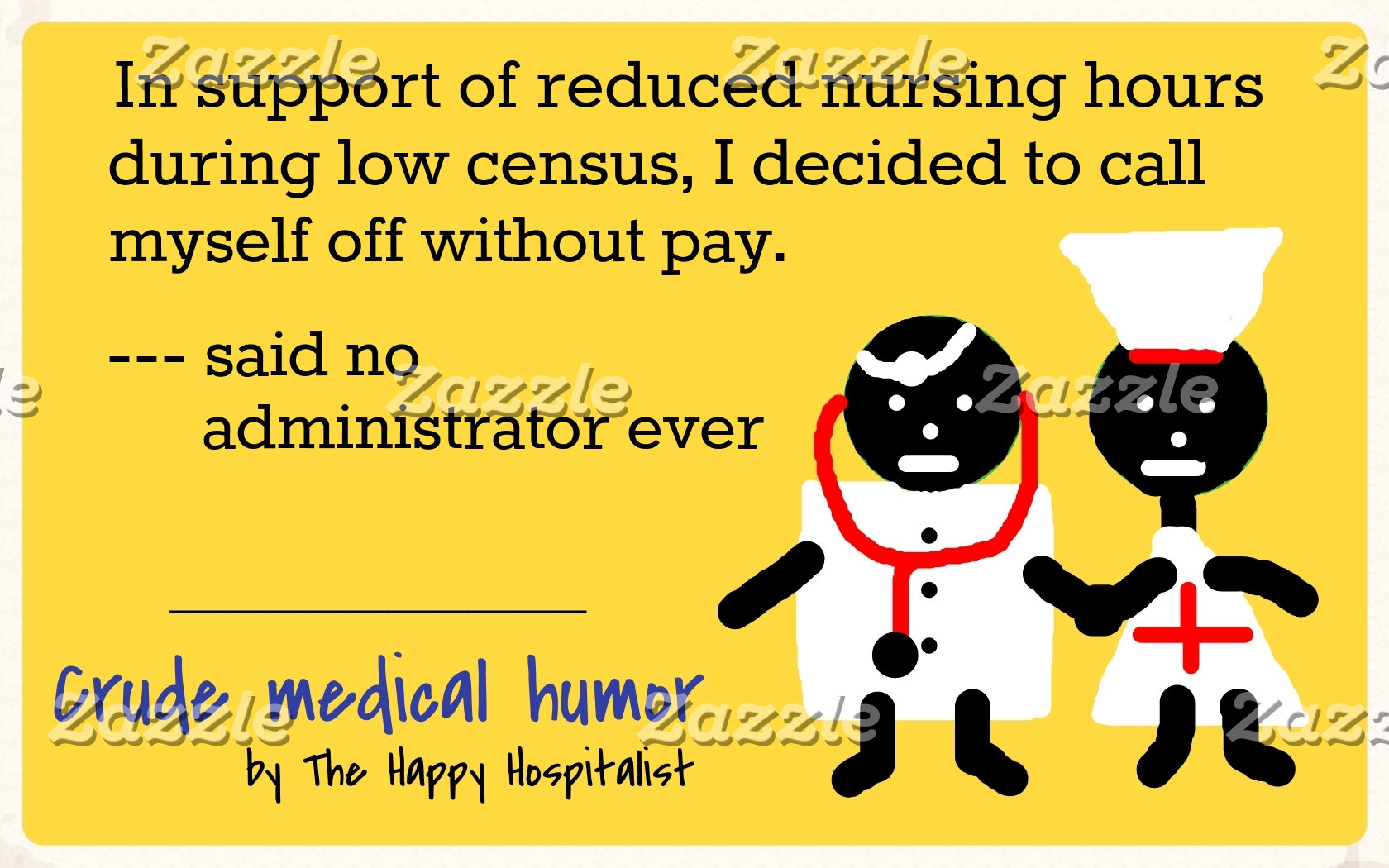 In support of reduced nursing hours during low...