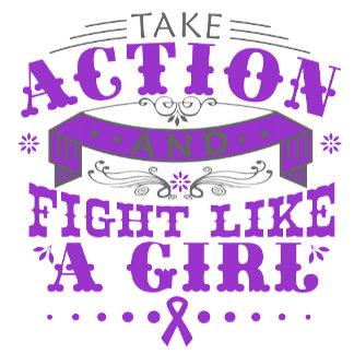 Epilepsy Take Action Fight Like A Girl