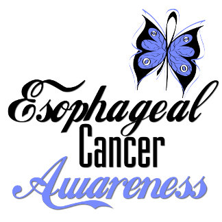 Esophageal Cancer Awareness Butterfly