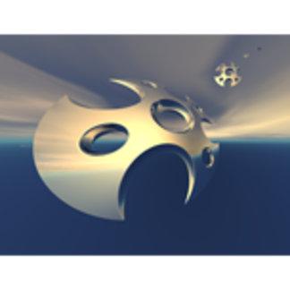 Metallic Space Pods