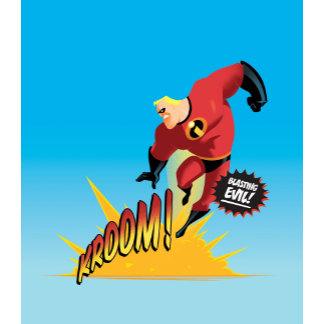 "The Incredibles' Mr. Incredible ""Blasting Evil"""