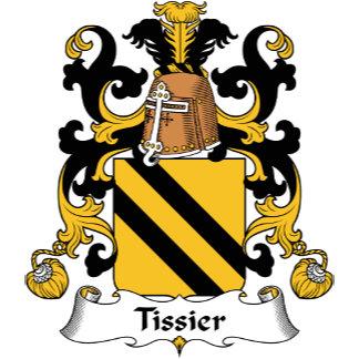 Tissier Family Crest
