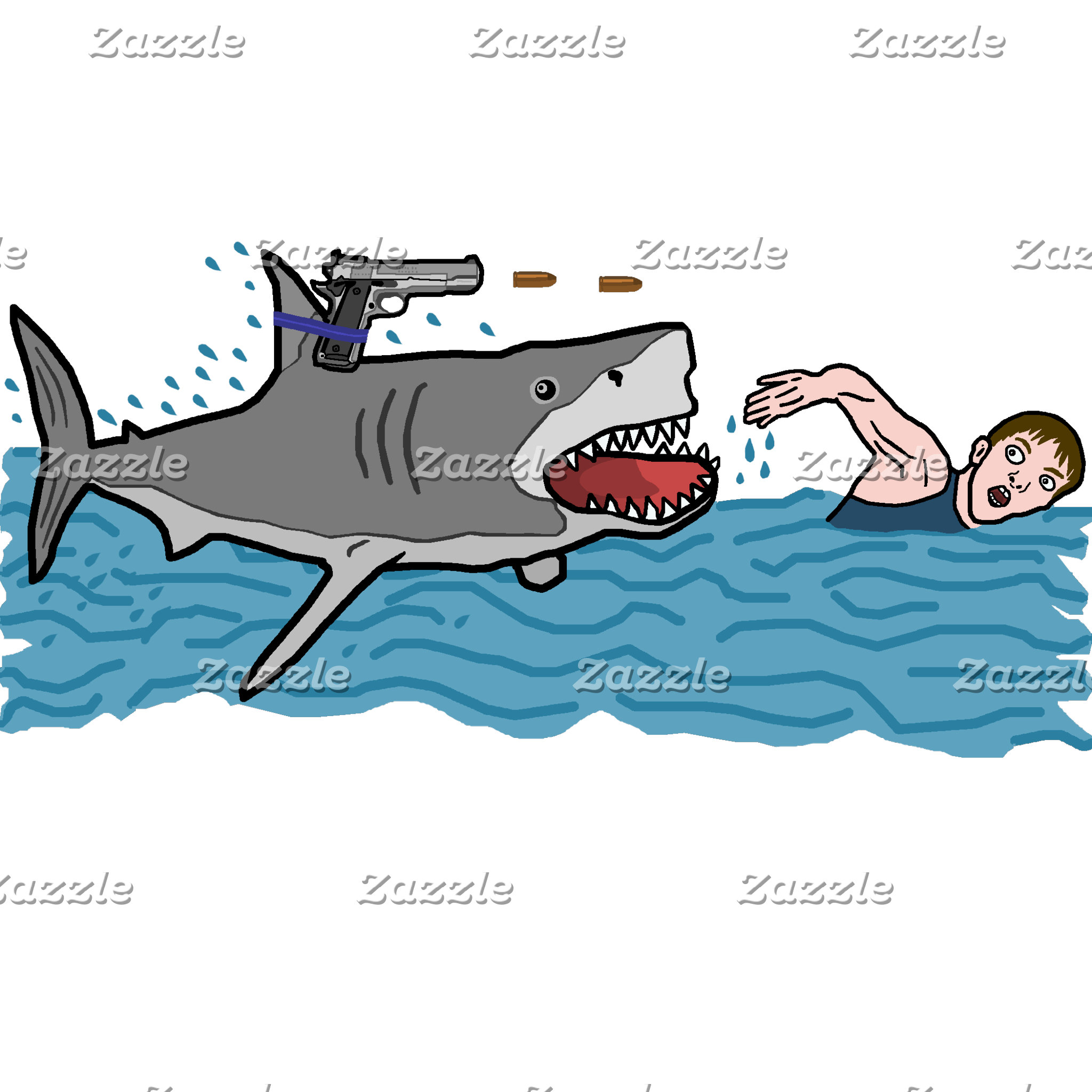 Sharks with Guns Kill People Faster