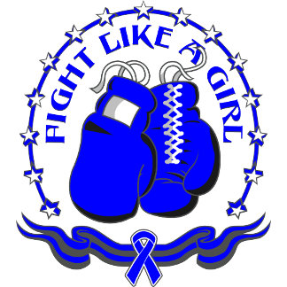 Colon Cancer Fight Like A Girl Sporty