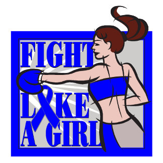 Colon Cancer Fight Like A Girl Boxer