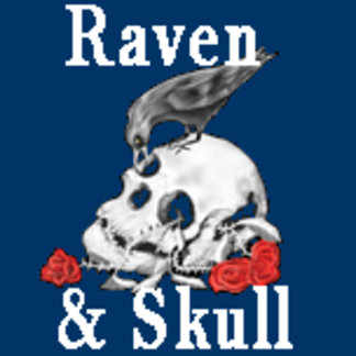Raven, Cross and skull designs.. mainly goth :)