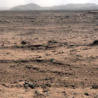 Mars Landscape Panorama