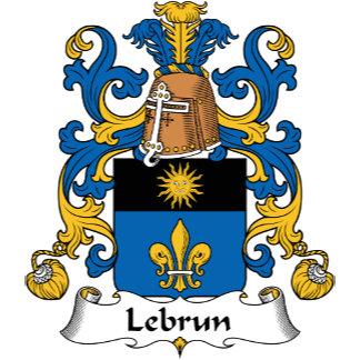 Lebrun Family Crest