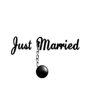 Just Married Ball and Chain