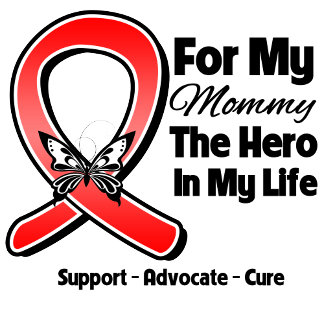 Red Ribbon For My Hero My Mommy