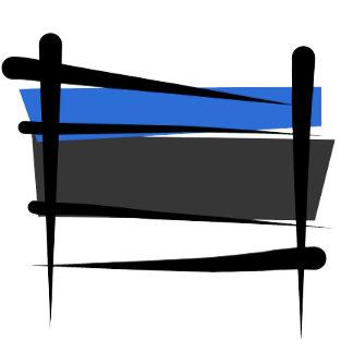 Estonia Brush Flags