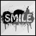 """""""Smile"""" Made Up From Sad Smilies"""