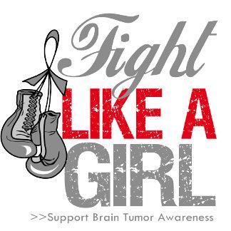 Fight Like a Girl Boxing - Brain Tumor