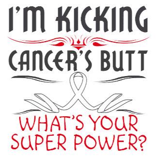 Lung Cancer Cancer Kicking Cancer Butt Super Power
