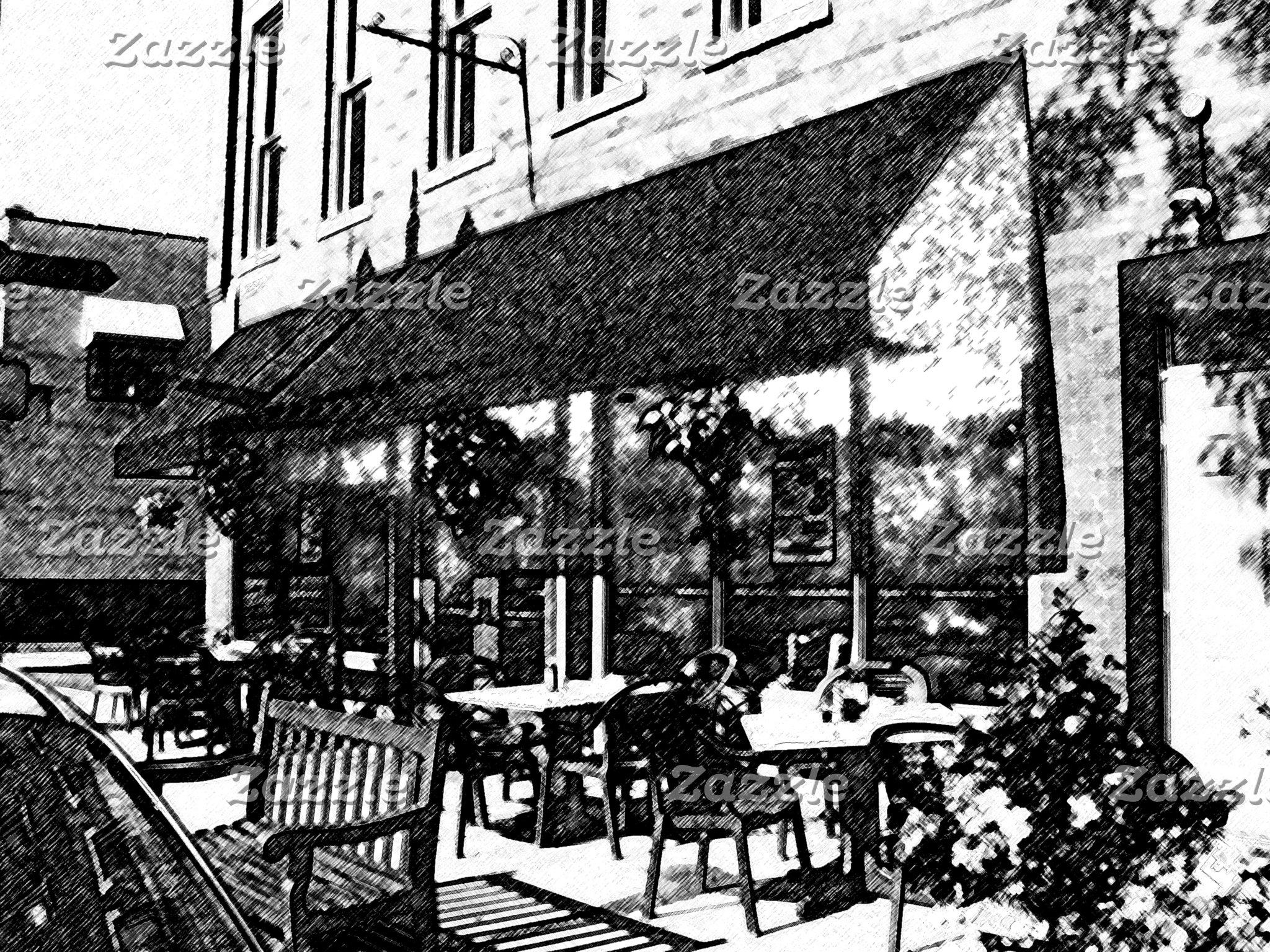 Sidewalk Cafe, Westerville, Ohio