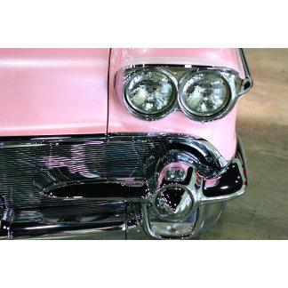 Classic Pink Car