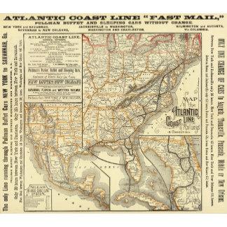 Map Atlantic Coast Line