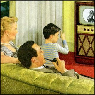 Retro TV Family