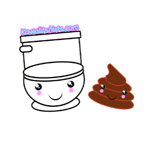 Loo & Poo cute Kawaii friends t-shirts & more