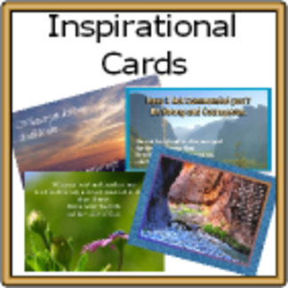 * Inspirational POSTERS. PRINTS & CARDS