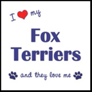 I Love My Fox Terriers (Multiple Dogs)