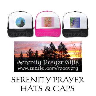 Serenity Prayer Hats / Caps