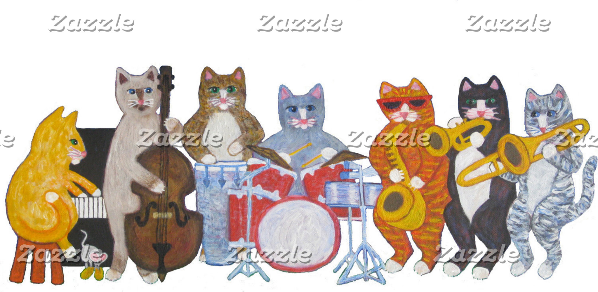 Salsa Cat Band